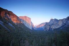 Yosemite sunset Stock Photo
