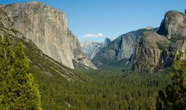 Yosemite-Tal Stockfoto