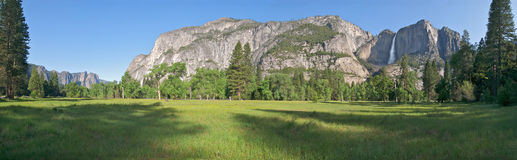 Yosemite-Tal. Lizenzfreie Stockbilder