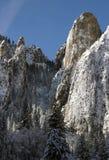 Yosemite-Tal in der Winterzeit Lizenzfreies Stockbild