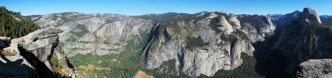 Yosemite-Tal-Kalifornien-Panorama Stockfotos
