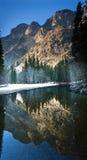 Yosemite-Tal-Reflexionen Stockbild