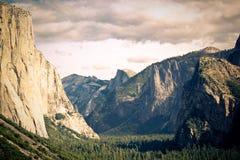 Yosemite-Tal, Tunnelansicht Stockfotografie
