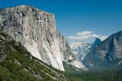 Yosemite tunnel view Royalty Free Stock Image