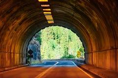 Yosemite tunnelsikt på dagen royaltyfria bilder