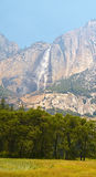 Yosemite Valley. Falls in Yosemite Valley, Yosemite National Park, California, USA Royalty Free Stock Photos
