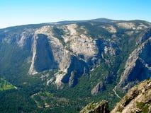Yosemite Valley. A Beautiful View of Yosemite Valley in California stock image