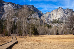 Yosemite Valley in Early Winter Royalty Free Stock Photo