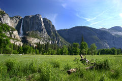Yosemite Valley Floor Stock Photo