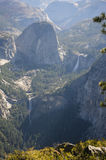 Yosemite Valley from Glacier Point Stock Photography