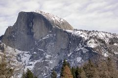 Yosemite valley and Half Dome Stock Photography