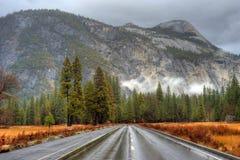 Yosemite Valley Highway Royalty Free Stock Image