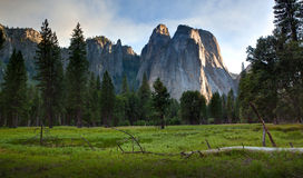 Yosemite Valley late afternoon Stock Images