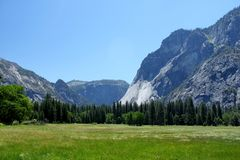 Yosemite Valley Stock Photo