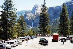 Free Yosemite Valley Overlook 2 Royalty Free Stock Photography - 892717