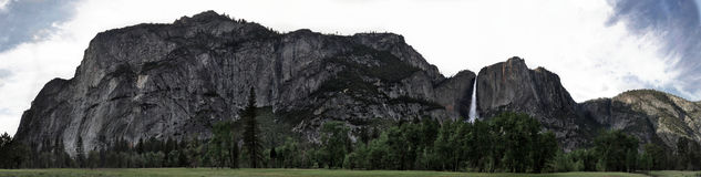 Yosemite Valley Panorama Stock Photos