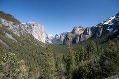 Yosemite Valley Scenery Royalty Free Stock Photography