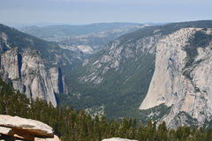 Yosemite Valley from Sentinel Dome Stock Photography
