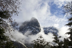 Yosemite Valley Storm Stock Images