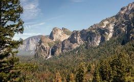 Yosemite Valley in summer. Dawn Stock Image