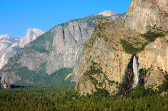 Yosemite valley summertime Royalty Free Stock Image