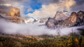 Yosemite valley Stock Photography