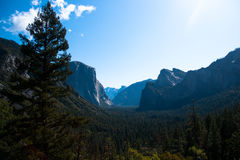 Yosemite Valley View Stock Photography
