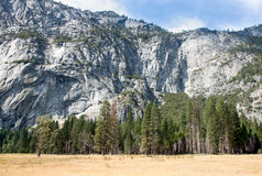 Yosemite Valley Wall Stock Image
