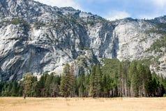 Yosemite Valley Wall Stock Image