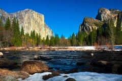Yosemite Valley in Yosemite National Park,California Stock Images