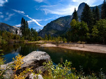 Yosemite Valley in Yosemite National Park Stock Images