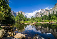 Yosemite Vally Royaltyfria Bilder