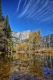 Yosemite vattenfall arkivbild