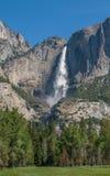 Yosemite vattenfall, Kalifornien, USA Arkivbilder