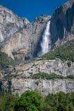 Yosemite vattenfall, Kalifornien, USA Royaltyfri Foto