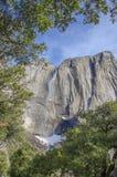 Yosemite vattennedgång Kalifornien Arkivfoton