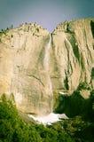 Yosemite vattennedgång Kalifornien Royaltyfri Bild