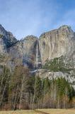 Yosemite vattennedgång Kalifornien Fotografering för Bildbyråer