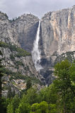 Yosemite View with water fall Stock Photos