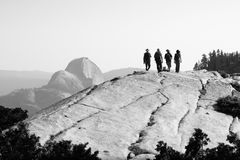 Yosemite-Wanderer stockfotos