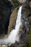 Yosemite-Wasser-Fälle Stockbild