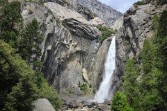 Yosemite-Wasserfall Lizenzfreie Stockfotos