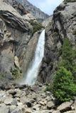 Yosemite-Wasserfall Stockfoto