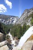 Yosemite-Wasserfall-Ansicht Lizenzfreie Stockbilder