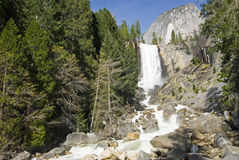 Yosemite Waterfall. Yosemite National Park, California, United States Royalty Free Stock Images