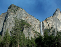 Yosemite Waterfall Royalty Free Stock Image
