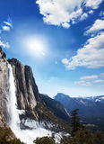 Yosemite waterfall Stock Image