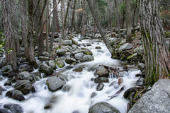 Yosemite waterfall. In late spring Royalty Free Stock Photography