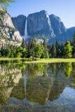 Yosemite Waterfall Royalty Free Stock Photography