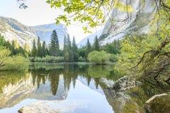Yosemite waterfall at Yosemite national park Royalty Free Stock Photography